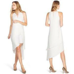 White House Black Market Asymmetrical Dress 0P
